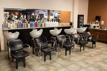 Shampoo bowls at Kenneth Shuler Florence