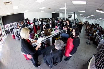 Cosmetology school main floor