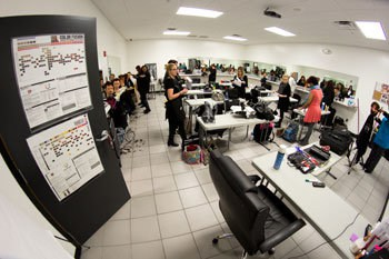 North Augusta cosmetology classroom