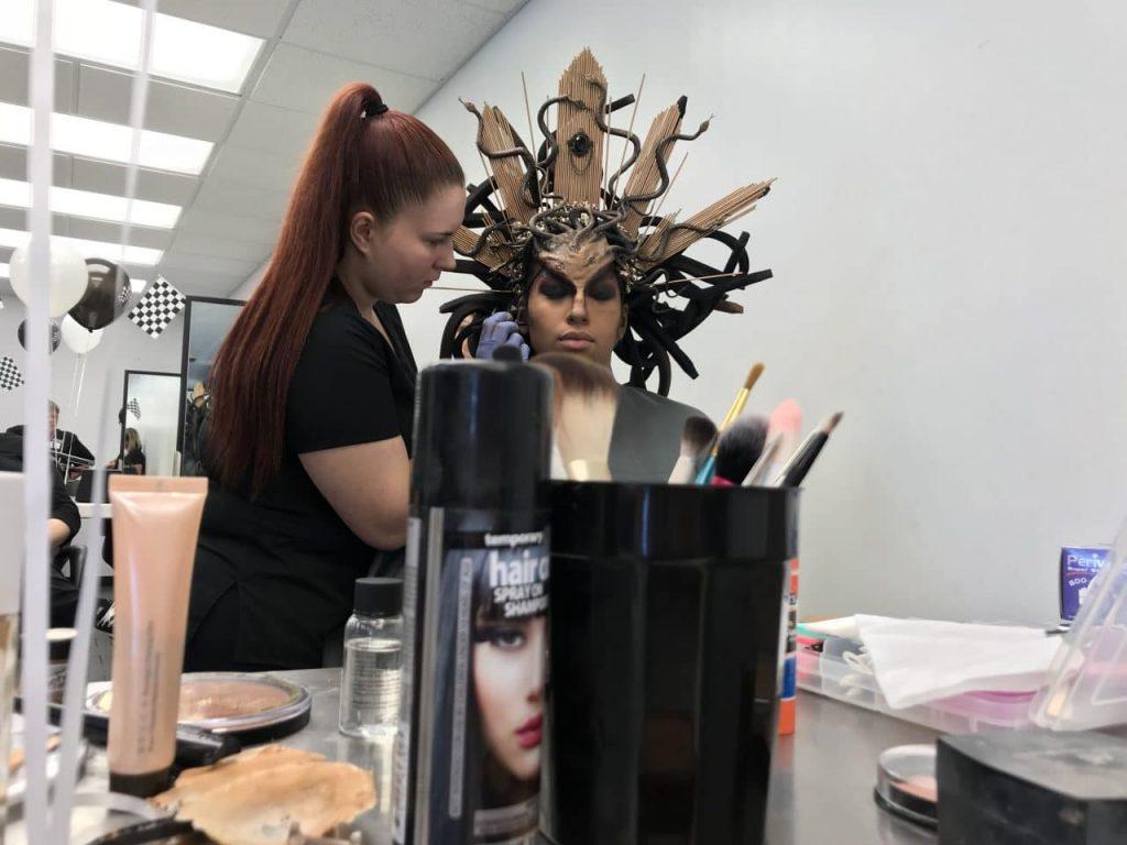 Makeup artist for BOSS Comp