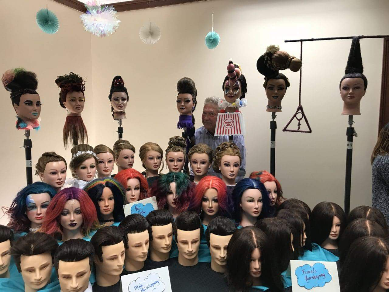 2019 BOSS group mannequins